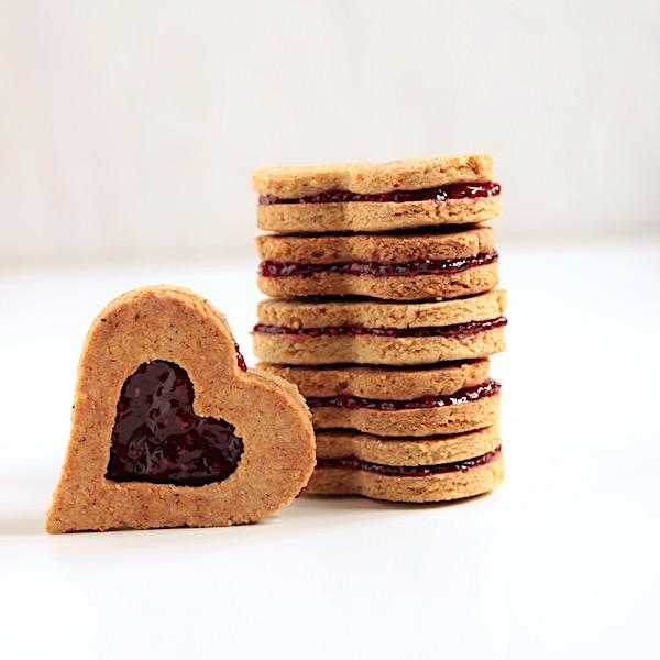 biscottoni alla marmellata