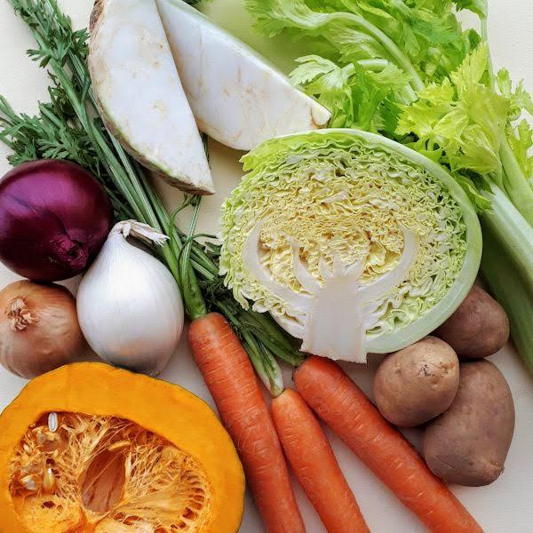Brodo ricco alle verdure