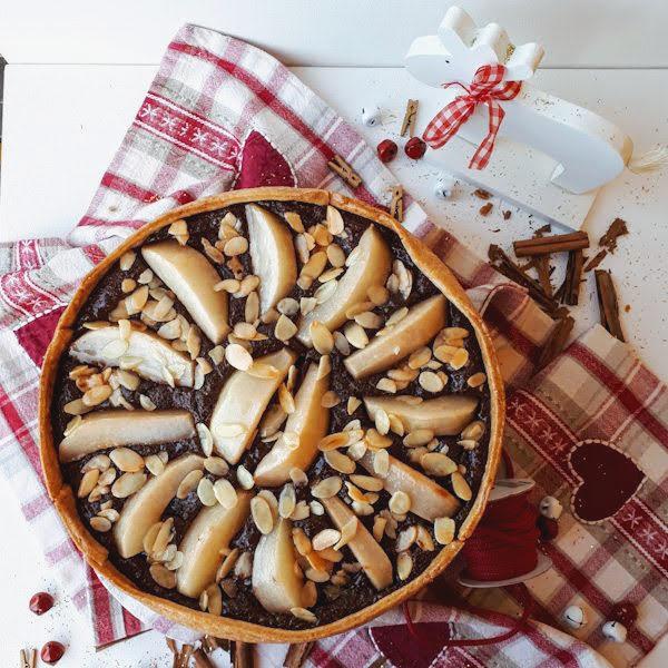Crostata speziata alle pere