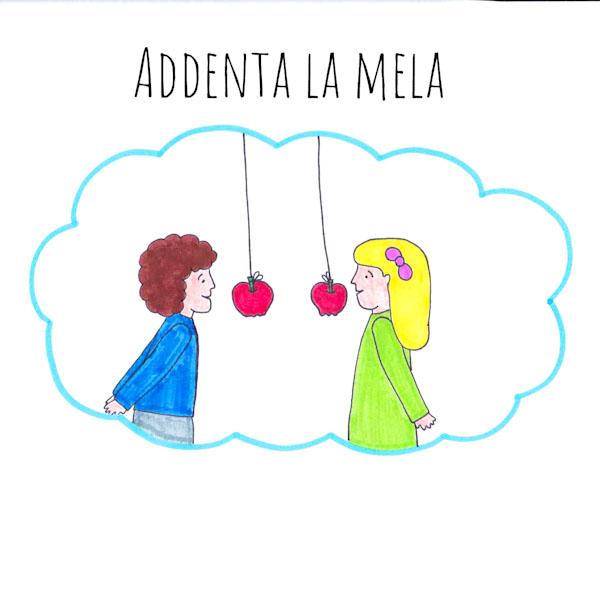 Addenta una mela - Giochi per una festa - Ghiotto e Pastrocchio