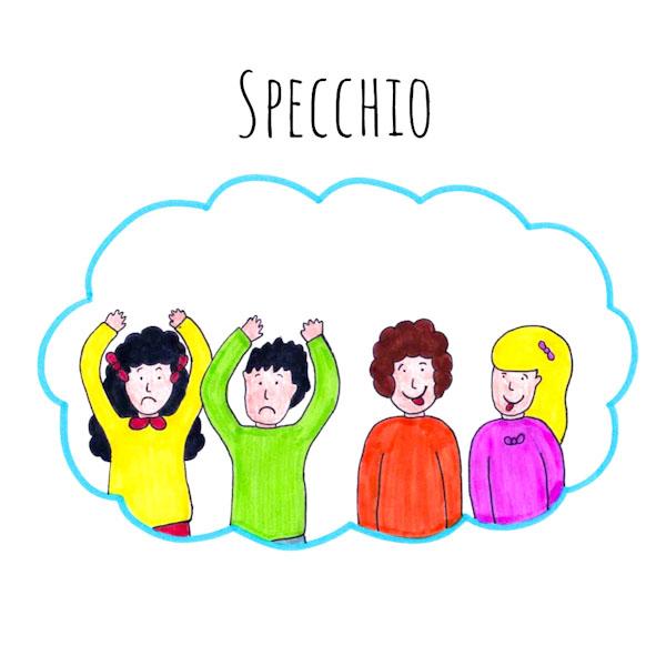 Specchio - Giochi per una festa - Ghiotto e Pastrocchio