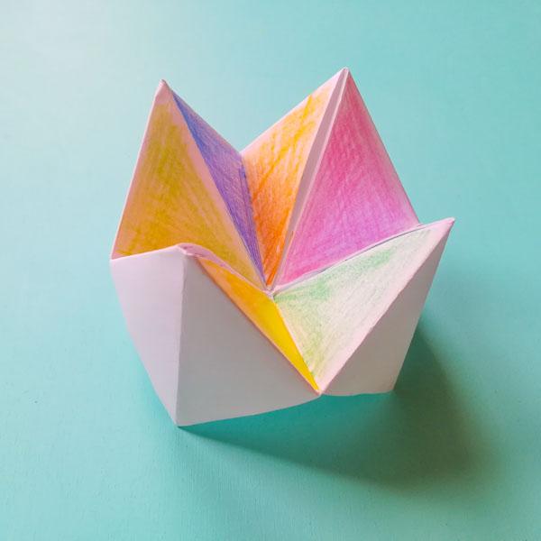 origami inferno e paradiso - Ghiotto e Pastrocchio