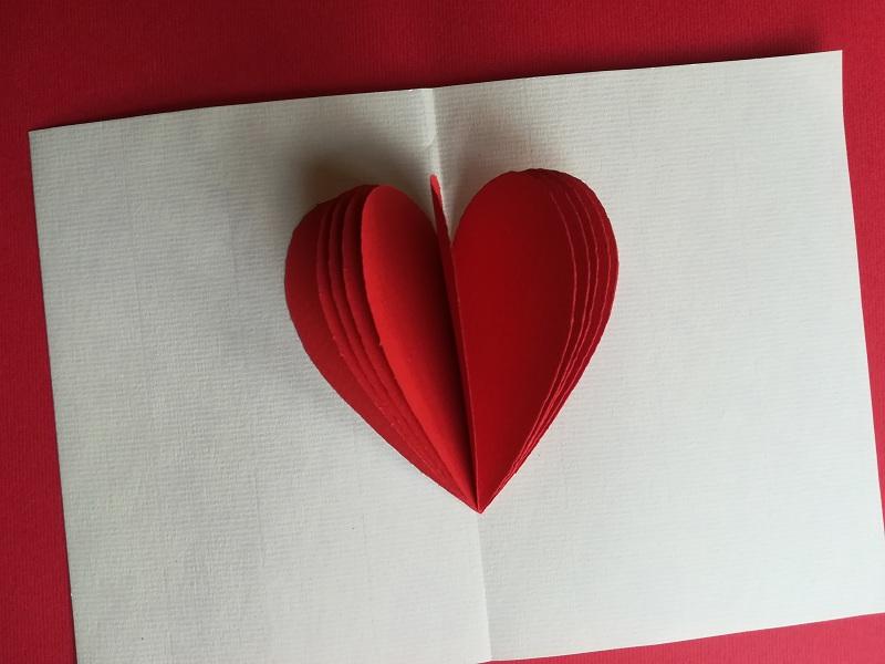 biglietto di san valentino fai da te - Ghiotto e Pastrocchio