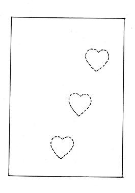 bigliettino san valentino fai da te - Ghiotto e Pastrocchio