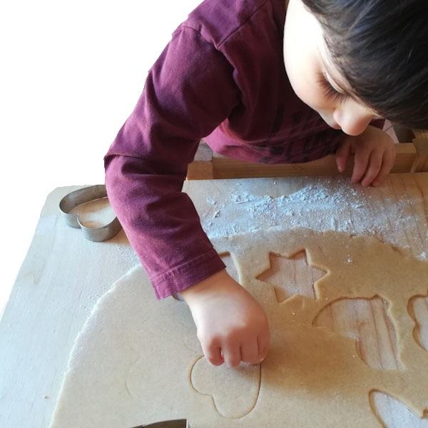 Fare i biscotti - Ghiotto e Pastrocchio