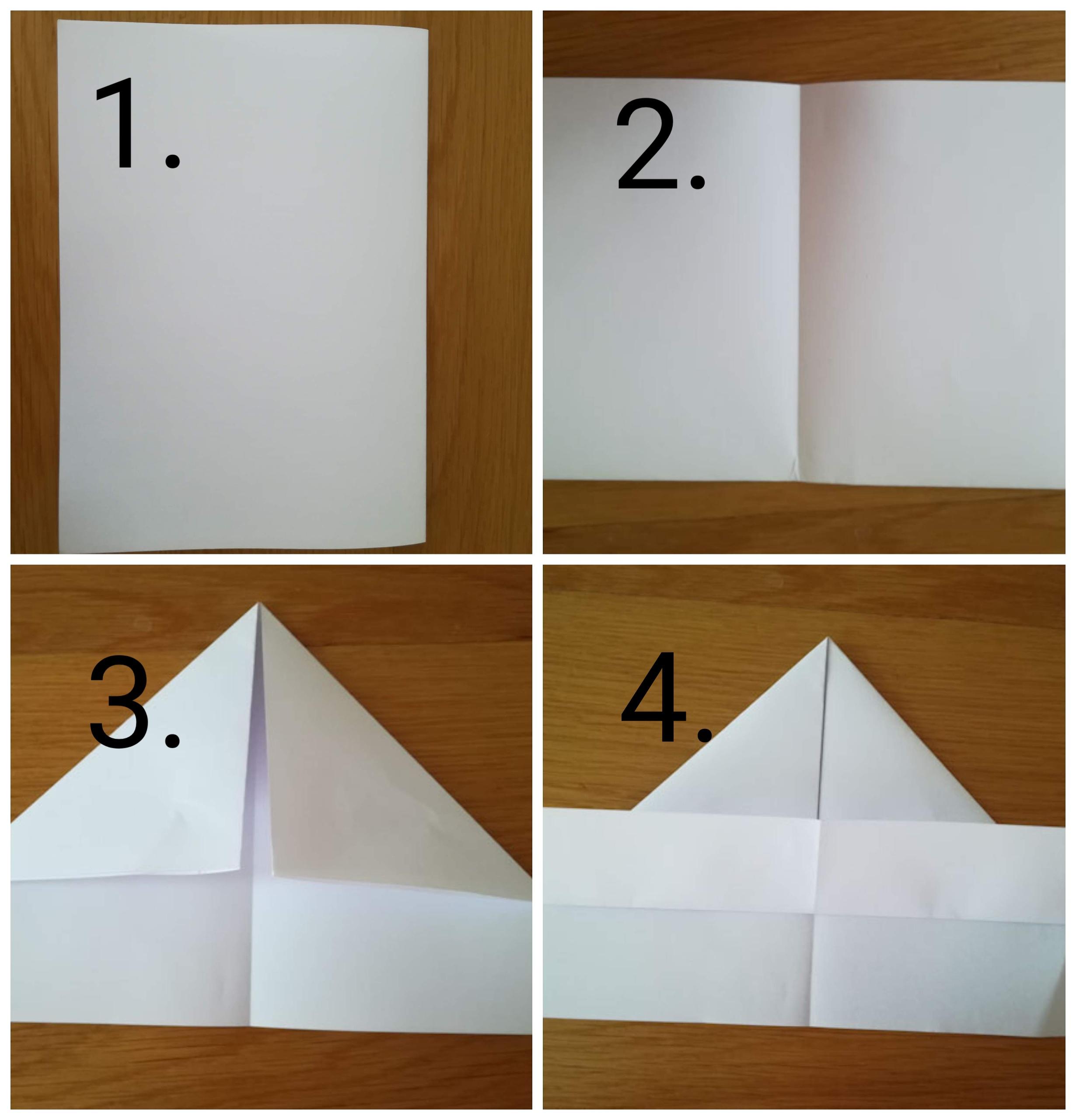 origami barchetta 3 - Ghiotto e Pastrocchio