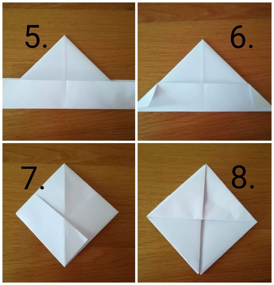 origami barchetta 2 - Ghiotto e Pastrocchio