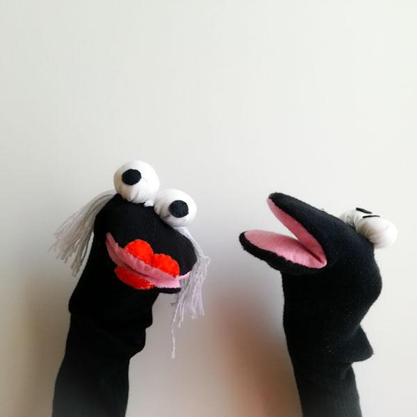 Marionette Con Le Calze Lavoretti Per Bambini Ghiotto E Pastrocchio