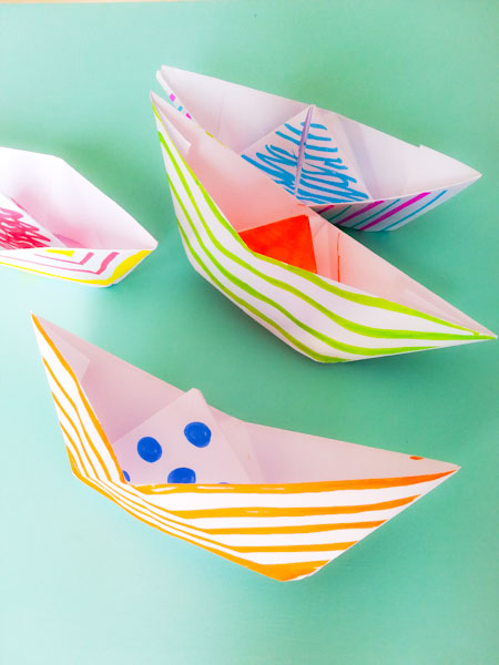 Barchette di carta - Ghiotto e Pastrocchio