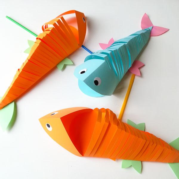 Pesce fluttuante - Ghiotto e Pastrocchio