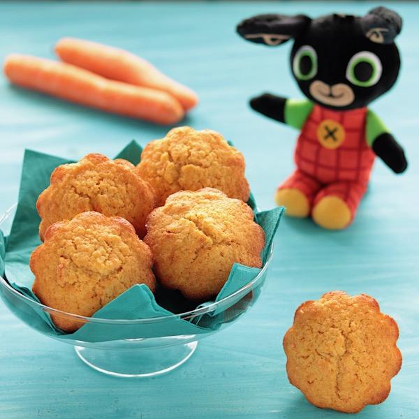 Muffin alle carote di Bing