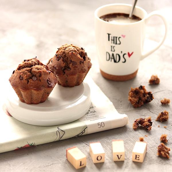 I Muffin di papà al caffè d'orzo