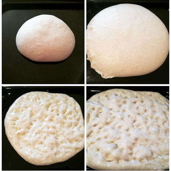 Impasto pizza lievitato - Ghiotto e Pastrocchio