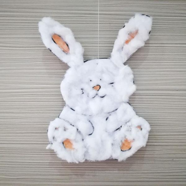 Coniglietto con il cotone - Ghiotto e Pastrocchio