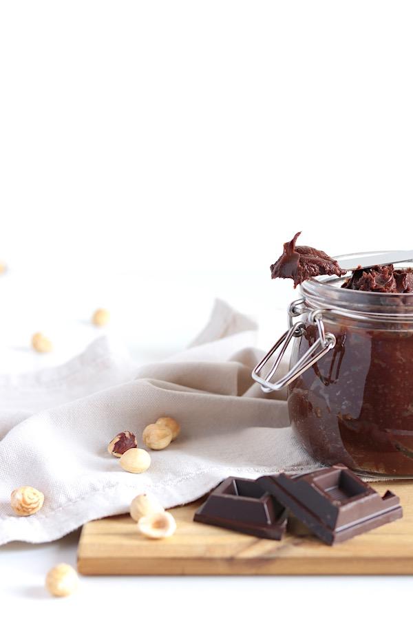 Crema alle nocciole e cioccolato