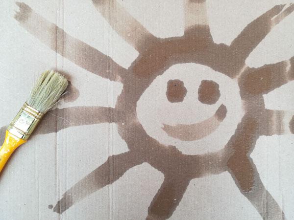 Dipingere con l'acqua - Ghiotto e Pastrocchio