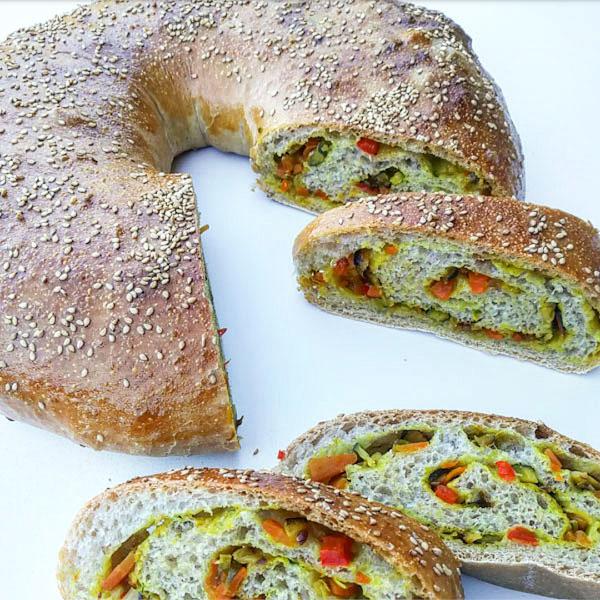 Ciambella morbida alle verdure - Ghiotto e Pastrocchio