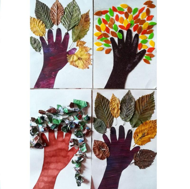 albero autunnale - Ghiotto e Pastrocchio