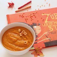 zuppa arancione di lenticchie rosse