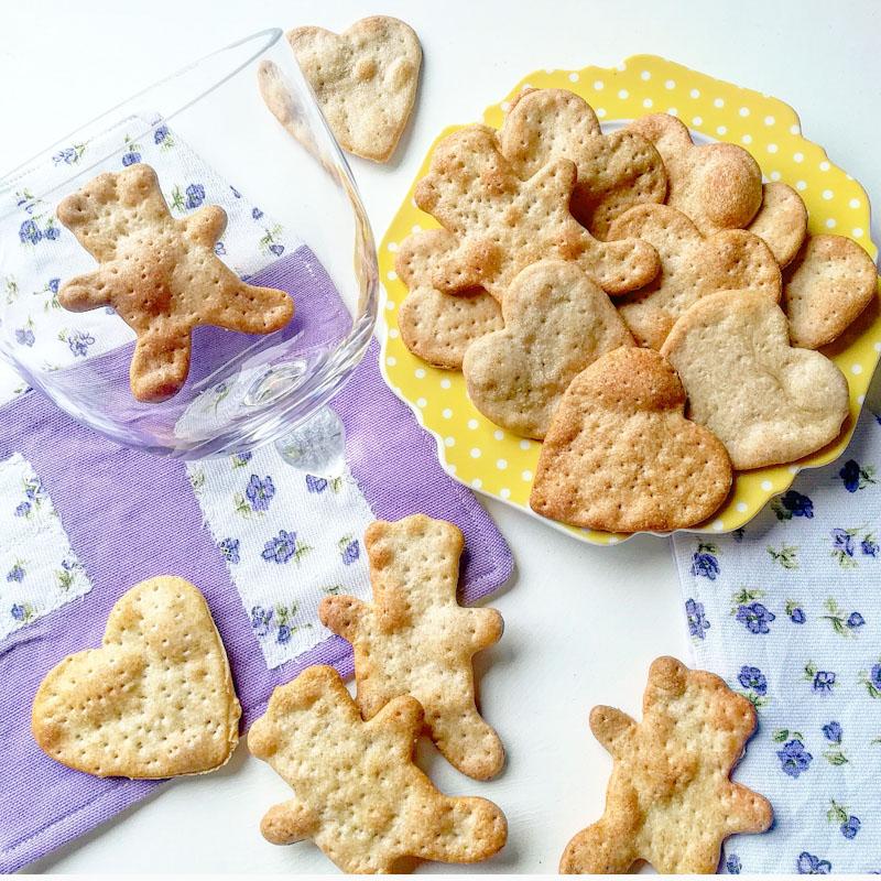 Crackers senza lievito - Ghiotto e Pastrocchio