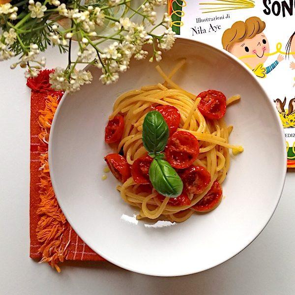 Spaghetti ai pomodorini