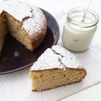 torta semplice allo yogurt - Ghiotto e Pastrocchio