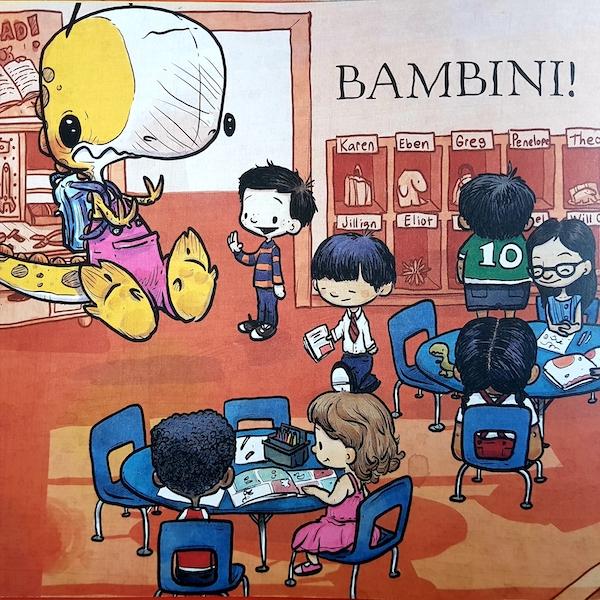 Non si mangiano i compagni di classe
